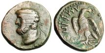 "Ancient Coins - Macedonia, Amphipolis Autonomous Issue ""Zeus & Eagle"" Very Rare"
