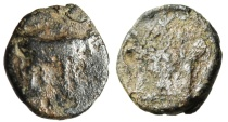 "Ancient Coins - Mysia, Parion (Parium) AE11 ""Bull & Great Altar"" Very Rare"