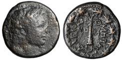 "Ancient Coins - Phoenicia, Tyre Pseudo-Autonomous Issue ""Melqart-Hercules & Club, Wreath"" CY 220"