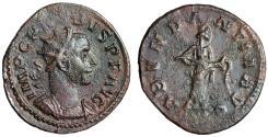 """Ancient Coins - Probus AE Antoninianus """"Abundantia Pouring Cornucopiae"""" Lyons RIC 17 gVF"""