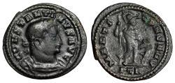 "Ancient Coins - Constantine I The Great AE Half Follis ""MARTI CONSERV Mars"" Trier RIC 897 Scarce"