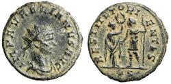 """Ancient Coins - Aurelian Antoninianus """"RESTITVT ORIENTIS Emperor & Orient, Wreath"""" RIC 234 gVF"""