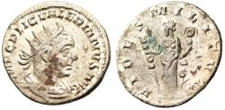 "Ancient Coins - Valerian I Silver AR Ant. ""FIDES MILITVM FIdes with two Ensigns"" Rome RIC 89 EF"