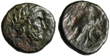 """Ancient Coins - Elis, Olympia """"Zeus & Eagle Grasping Serpent"""" BCD 284/286 Mule Rare"""