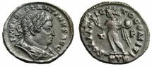 """Ancient Coins - Constantine I The Great AE Follis """"SOLI INVICTO COMITI Sol"""" Trier RIC 874 VF"""