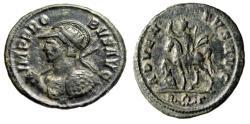 "Ancient Coins - Probus AE Antoninianus ""ADVENTVS AVG Emperor on Horseback"" Rome Mint gF"