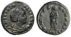 """Ancient Coins - Theodora (Flavia Maximiana, Wife of Constantius I Chlorus) """"Portrait"""" About EF"""