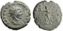 "Ancient Coins - Aurelian AE Antoninianus ""VICTORIA GERN [sic] Victory"" RIC 355 Note Rare"