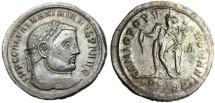 """Ancient Coins - Galerius AE Follis """"GENIO POPVLI ROMANI Genius of the Roman People"""" Serdica"""