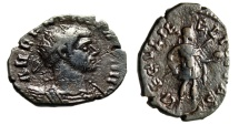 "Aurelian Barbarous AE Antoninianus ""SAECVLI FELICITAS Globe & Spear"" Rare"