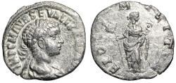 "Ancient Coins - Severus Alexander AR Denarius ""Fides"" Antioch Mint RIC Unlisted Very Rare gVF"
