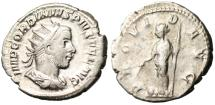 "Ancient Coins - Gordian III Silver AR Ant, ""PROVID AVG Providentia"" Rome RIC 148"