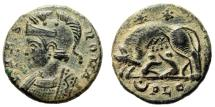 "Ancient Coins - Rome City Commemorative AE16 ""She-Wolf, Twins"" Lyons RIC 257 About EF"