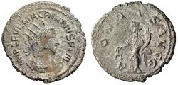 "Ancient Coins - Macrianus, Usurper, Billon Antoninianus ""Aequitas"" Samosata Mint RIC 5 VF"