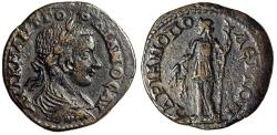 """Ancient Coins - Gordian III AE26 """"Demeter With Torch & Grain"""" Hadrianopolis, Thrace VF"""
