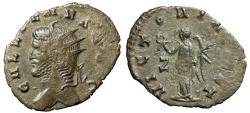 """Ancient Coins - Gallienus AE Antoninianus """"Bust Left & Victory"""" RIC Unlisted Extremely Rare"""
