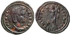"""Ancient Coins - Galeria Valeria (Daughter of Diocletian) Follis """"VENERI VICTRICI Venus"""" Cyzicus"""