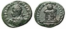 "Ancient Coins - Constantine II Caesar AE20 ""BEATA TRANQVILLITAS Altar"" Londond RIC 236"