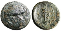"Ancient Coins - Caria Mylasa (Eupolemos, General of Cassander"" Three Shields & Sword in Sheath"""
