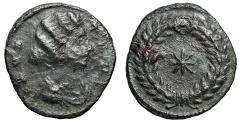 "Ancient Coins - Fausta (Wife of Constantine I The Great) ""Eight Pointed Star in Wreath"" Scarce"