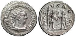 """Ancient Coins - Valerian I AR Antoninianus """"Valerian & Gallienus"""" Antioch RIC 293 EF"""