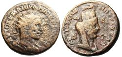 """Ancient Coins - Philip I AE31 """"Bust of Tyche' Syria Antioch BMC 526"""