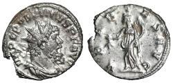 "Ancient Coins - Postumus AR Antoninianus ""VBERTAS AVG Fertilitas"" RIC 330 Good VF"