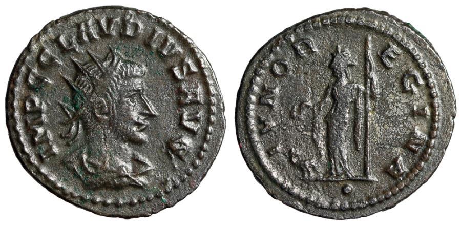 """Ancient Coins - Claudius II Gothicus Antoninianus """"IVNO REGINA Juno"""" Antioch Unlisted Exergue"""