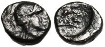 """Ancient Coins - Troas, Ilion (Ilium) AE9 """"Athena & Athena Ilias With Spear"""" Rare"""