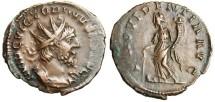 """Ancient Coins - Victorinus AE Antoninianus """"Providentia"""" RIC 61 VF"""