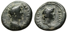 "Ancient Coins - Marcus Aurelius AE23 ""Bust of the Senate"" Thrace Perinthos (Perinthus) Scarce"