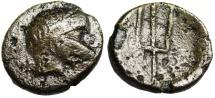 "Ancient Coins - Danubian Celts Serdi Tribe Imitating Philip V ""River Strymon & Trident"""