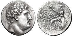 """Ancient Coins - King of Pergamon: Eumenes I AR Tetradrachm """"Head of Philetairos / Athena"""" VF"""