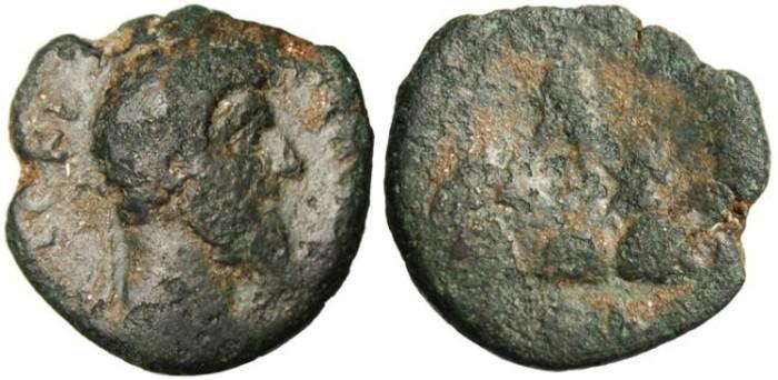 """Ancient Coins - Lucius Verus """"Mount Argaeus"""" Caesarea, Cappadocia Mint"""