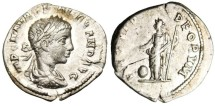 "Ancient Coins - Severus Alexander Silver AR Denarius ""Providentia RIC 294"""