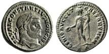 "Ancient Coins - Constantius I Chlorus Caesar Follis ""GENIO AVG ET CAESARVM NN"" Cyzicus RIC 11a"