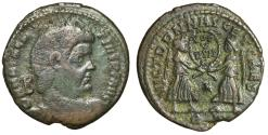 "Ancient Coins - Magnentius AE Centenionalis ""Two Victories, Wreath VOT V MVLT X"" Rome RIC 216"