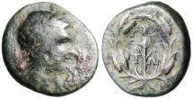 "Ancient Coins - Aeolia, Elaia (Elaea) Autonomous Issue ""Persephone & Torch"" Scarce"