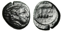 """Ancient Coins - Alexander III The Great AE19 """"Herakles, Bow in Case & Club BA"""""""