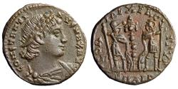 """Ancient Coins - Constantine I The Great """"Roman Soldiers"""" Alexandria Mint RIC 65 EF"""