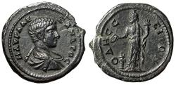 "Ancient Coins - Severus Alexander Caesar AE27 of Odessos, Thrace ""Great god by Altar"" Choice EF"