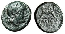 """Ancient Coins - King of Pergamon: Philetairos """"Athena & Strung Bow, Star"""" Scarce"""