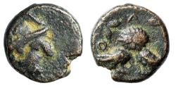 "Ancient Coins - Attica, Athens AE12 ""Athena & Double Bodied Owl, Two Olive Sprigs"" Rare VF"