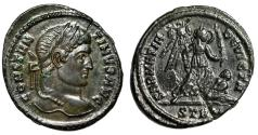 "Ancient Coins - Constantine I The Great ""SARMATIA DEVICTA Victory, Trophy & Captive"" Trier gVF"