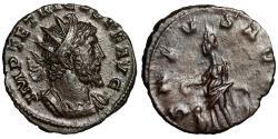 "Ancient Coins - Tetricus I Antoninianus ""SALVS AVGG Salus, Altar"" Choice Portrait aEF"