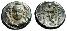 "Ancient Coins - Antiochus I Soter AE14 ""Athena Facing & Nike"" Smyrna or Sardes Choice EF"