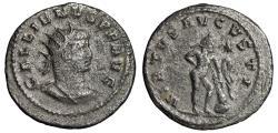 """Ancient Coins - Gallienus Billon Antoninianus """"VIRTVS AVGVSTI Farnese Hercules Statue"""" VF"""