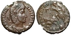 """Ancient Coins - Constantius II AE Centenionalis """"FEL TEMP REPARATIO Battle Scene"""" Antioch nEF"""