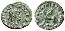 """Ancient Coins - Gallienus AE Antoninianus """"APOLLINI CONS AVG Griffin"""" Rome RIC 165 VF"""