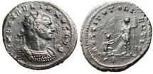 "Ancient Coins - Aurelian AE Ant. ""RESTITVT ORIENTIS Kneeling Oriens"" Cyzicus RIC 351 Scarce"